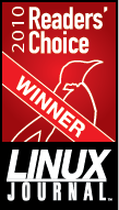 Linux Journal Readers Choice 2010