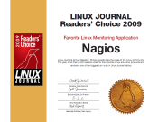 LinuxJournalReadersChoice2009Certificate-small