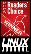 Linux Journal Readers Choice 2009