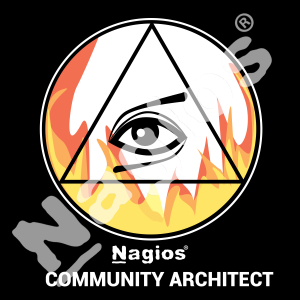 A Architect Badge in the Nagios Community Recognition Program