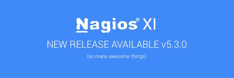 Nagios 5.3.0 Release Image