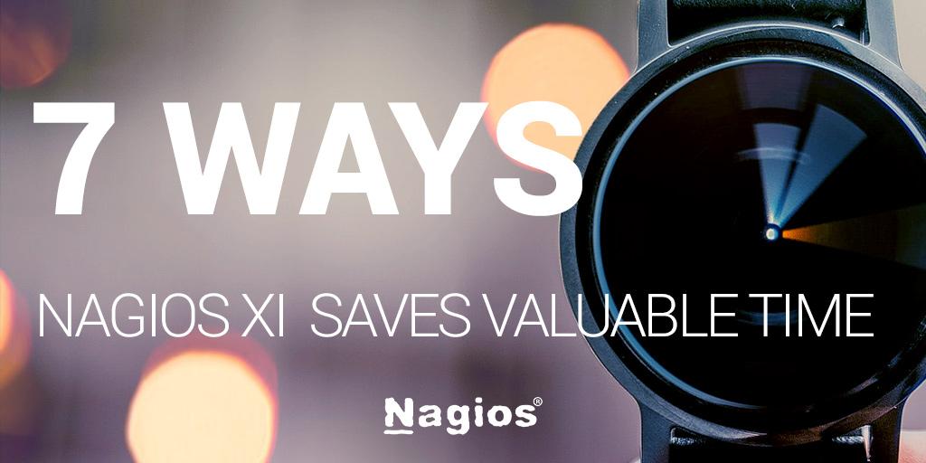 Nagios XI Saves Time