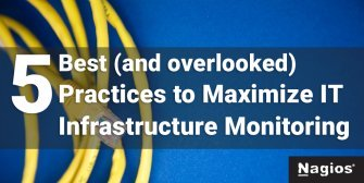 IT infrastructure monitoring best practices