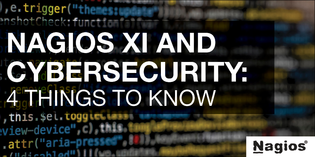 Nagios XI and cybersecurity